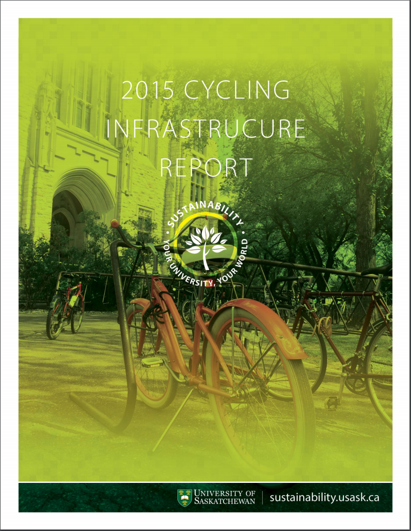 2015 Cycling Infrastructure Report Cover