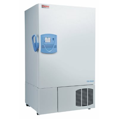 A picture of a Fisher Scientific Ultra Low Temperature Freezer.